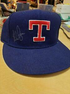 Nolan Ryan Autographed Texas Rangers Authentic Hat w/ Beckett (BAS) COA #G77397