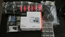 Sony DSC-W830 Silver, 20.1 M Pixel, 8X Zoom, Bundle