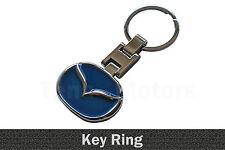 Mazda Metall Schlüsselring Schlüsselanhänger Schlüsselkette Blau /011