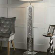 Sleek Jewel Filled Floor Lamp