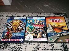 PC Spiele 3er Set Der Graf Von Monte Christo, Alarm Für Cobra 11 Und 10 Tage...