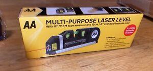 Multipurpose Laser Spirit Level Line Tape Tool Measurement Levelling Wall laser