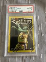 shaquille o'neal 1996 Finest Gold #146 PSA 8 First Lakers Jersey +color Match 🔥