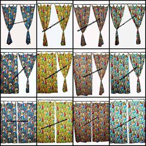 FRIDA KHALO Indian Curtain Home Décor, Floral, Rod Pocket Room Decor Curtains AU