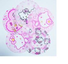 2pcs Hello Kitty Waterproof Elastic Plastic Shower Bathing Salon Hair Cap Hat