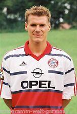 Alexander Zickler Bayern München 1998-99 seltenes Foto