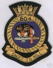 UK English RAF WWII Fleet Air Arm Squadron 804  Dive Bomber Wing Blazer Patch