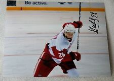 Detroit Red Wings Sergei Kolosov Auto Grand Rapids Griffins 8x10 Photo