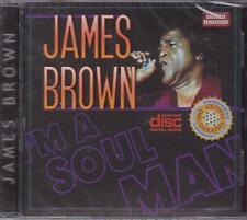 JAMES BROWN - LIVE - I'M A SOUL MAN - CD -  NEW -