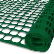 (1) Roll Tenax 5A030001 4' x 100' Green Mesh Guardian Economy Safety Fence