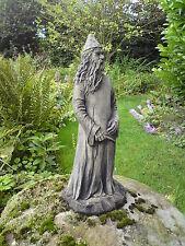 More details for 🇬🇧stone garden magic wizard / wizzard / magician merlin ornament hogwarts ✨