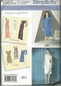 NEW Simplicity 2053 Pattern Size R5 14-22 Designer Inspired party dress UNCUT