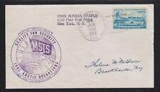 USA 1961 SEALIFT FOR SECURITY ARCTIC OPERATIONS USNS BONDIA APO 677 NAVAL COVER