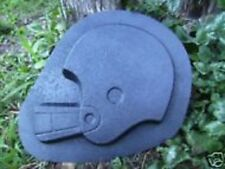 "Football helmet stepping stone plastic mold 1.5"" thick more football molds too!"