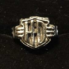 Tone Ring Size 10 Hd Harley Davidson Silver