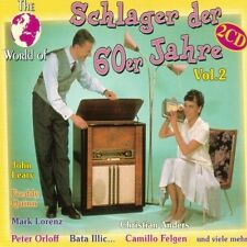 World of Schlager der 60er Jahre 2 Kristina Bach, John Leary, Freddy Qu.. [2 CD]