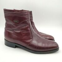 Bally Lauro Italian Leather Ankle Boots 43.5 Men's Size 10.5