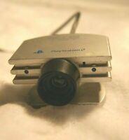 PS2 Eyetoy Camera Silver - Genuine / Original / Playstation2 / Free UK Postage