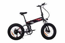 M0320F Black FAT TYRES E Bike, Road Legal E Bike