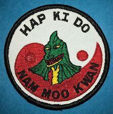 Rare 1970's Hap Ki Do Nam Moo Kwan Martial Arts Mma Gi Uniform Patch 581