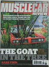 Muscle Car Review Aug 2016 The Goat in the Tree Pontiac Camaro FREE SHIPPING sb
