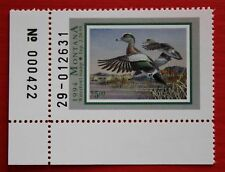 Clearance: (Mt09) 1994 Montana Waterfowl Stamp (plate # single)