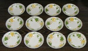 Villeroy & Boch Geranium 12 Schälchen kleine Dessertschale Kompottschale 12,5 cm