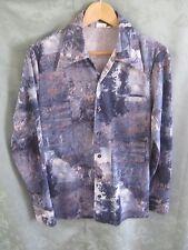 70's Hobo Polyester Leisure Shirt Size Medium Disco Era