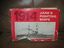 Jane's Fighting Ships Book 1914 Third Edition by Arco Publishing Company