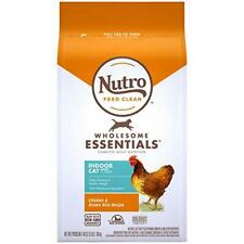 Nutro WHOLESOME ESSENTIALS Adult Indoor Dry Cat Food Chicken & Brown Rice 3 lb.