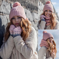Heat Holders - Femme Fantaisie Chaud Hiver Bonnet avec Pompon