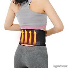 Magnetic Heat Waist Belt Brace Lower Back Therapy Support Pain ReliefW&T