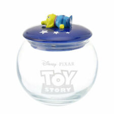 Toy Story Alien Canister Glass Round Disney Store Japan