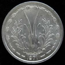 French West Africa Franc 1971 BU
