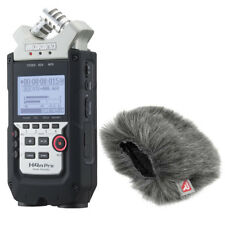 Zoom H4n PRO 4-Channel Handy Portable Recorder w/ Rycote 055438 Mini Windjammer