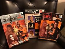 3 different boxes Vintage World wrestling federation valentines cards