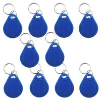 10pcs 13.56MHz IC Key Chain FOB Read Write Tag for Security Door Access Reader