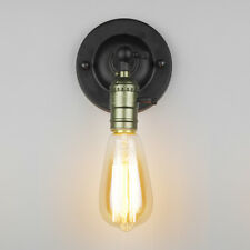 Modern Industrial Wall Lamp Light Aluminum Base Sconce With Switch Home Cafe