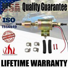 Universal Electric Low Fuel Pump Carburetor 12V HEP-02A 5-9PSI Gas Diesel Inline