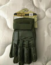 Valken V-Tac Black Tactical Finger Gloves paintball, cosplay large