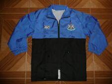 Vintage Newcastle United Football Rain Jacket 1990s ASICS