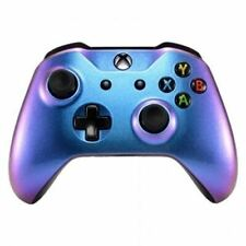 Xbox One S Custom Controller Chameleon Blue and Purple Themed
