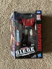 New listing Transformers Siege Deluxe Sideswipe War For Cybertron