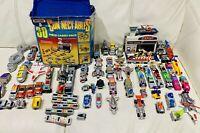 Matchbox Connectables - Vintage 1990s Toy Cars Vehicles Job Lot Bundle