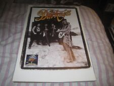 THE DARKNESS-PERMISSION TO LAND-1 POSTER-11X17 INCHES-NMINT-RARE!!!!