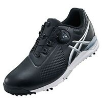 ASICS Golf Shoes GEL-ACE TOUR Boa Soft Spike TGN923 Black Silver With Tracking