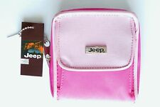 Compact Ladies womens genuine JEEP zip around purse wallet Free UK Delivery