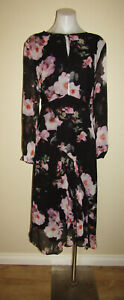 David Lawrence designer size 16 long sleeved evening dinner party cocktail dress