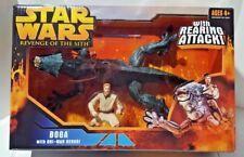Hasbro Star Wars Episode 3 Boga With Obi Wan Kenobi with Rearing Attack Action