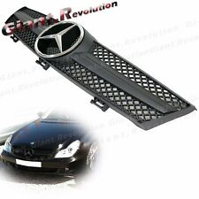 For 2005-08 W219 Sedan BENZ CLS550 CLS350 Matte Black Fin Body Front Hood Grille